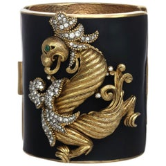 Carolyne Roehm x CINER Black Dragon Cuff
