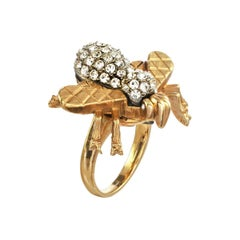Carolyne Roehm x CINER Crystal Bee Ring
