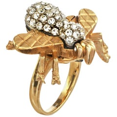 Carolyne Roehm x CINER Crystal Bee Ring