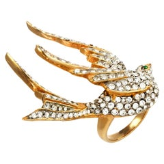 Carolyne Roehm x CINER Crystal Dove Ring