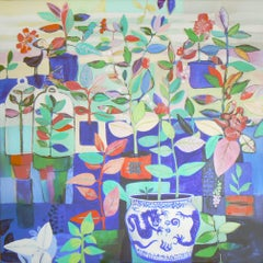 Green fingers, Painting, Acrylic on Canvas