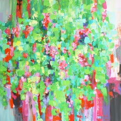 Hanging garden, Painting, Acrylic on Canvas