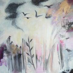 Murmuration, Painting, Acrylic on Canvas