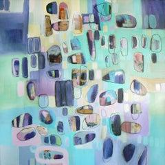 She sells sea shells, Painting, Acrylic on Canvas