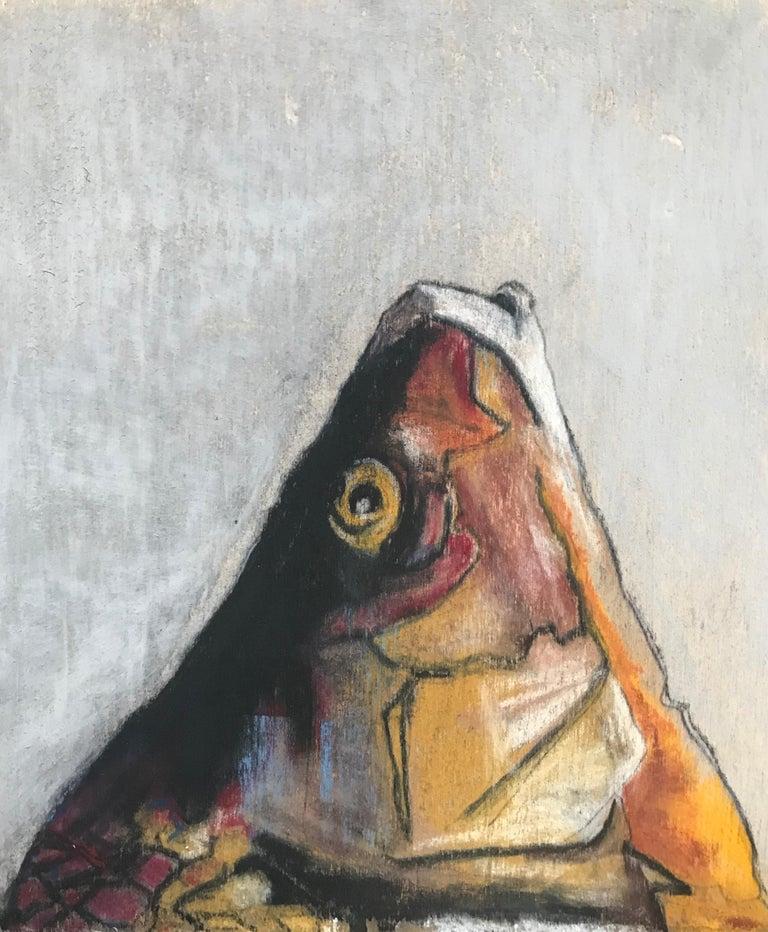 Italian Carpe Diem Fish Painting For Sale
