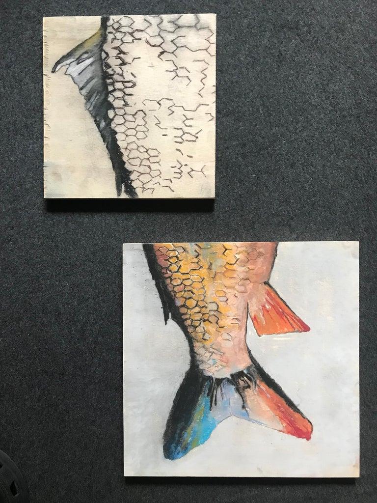 Carpe Diem Fish Painting For Sale 1