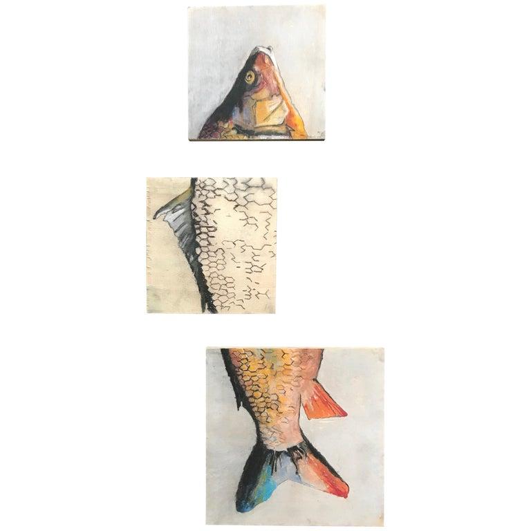 Carpe Diem Fish Painting For Sale