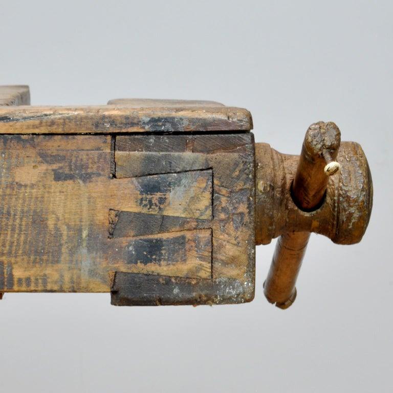 Carpenters Oak Workbench, circa 1900 For Sale 1