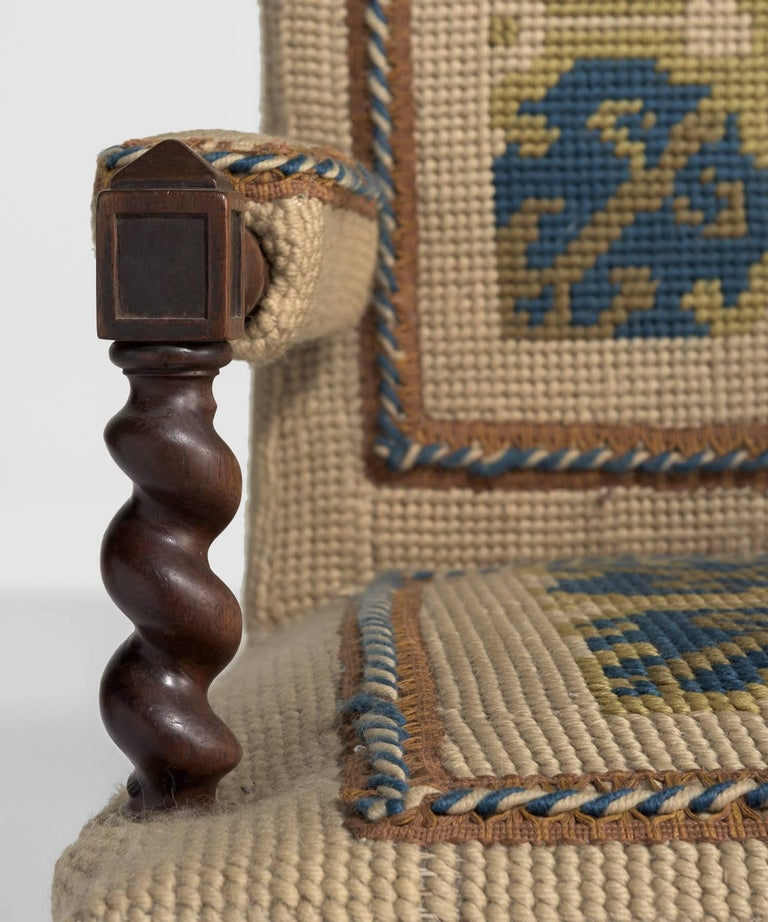 Late 19th Century Carpet Chairs, France, circa 1890 For Sale