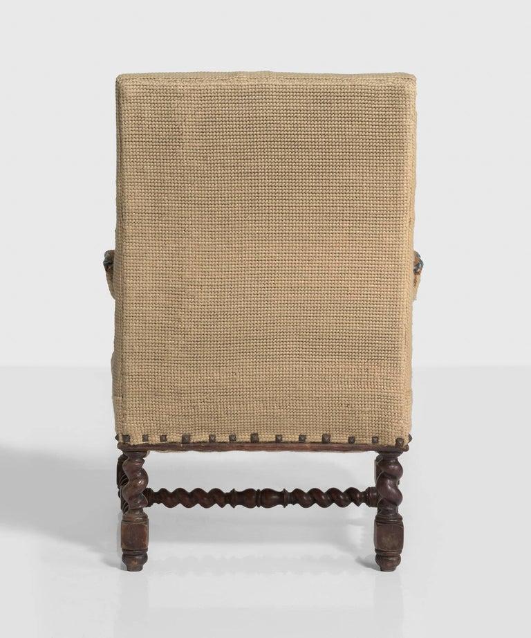 Oak Carpet Chairs, France, circa 1890 For Sale