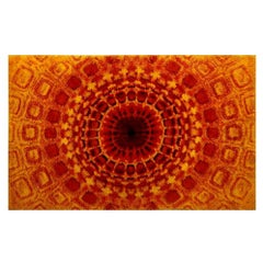 Carpet Wool Mid-Century Modern