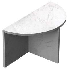 """Carrara Marble """"Fifty Circle"""" Coffee Table, Sebastian Scherer"""
