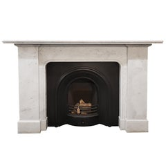 Carrara Marble Fireplace Mantel