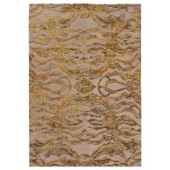 Scarlet Splendour mittelgroßer Carrara Teppich in Gelb, von Matteo Cibic