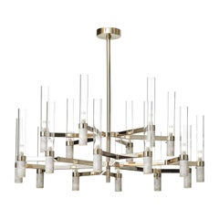 Carrara Marble Large Chandelier