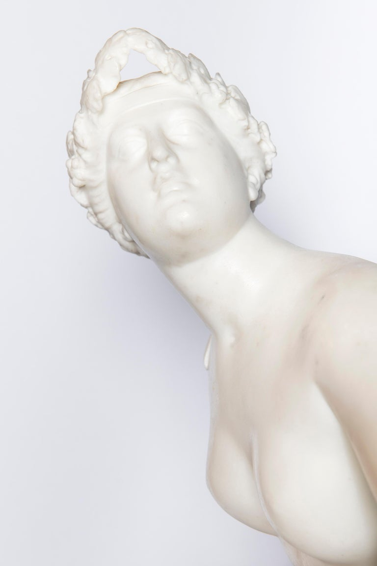 Neoclassical Carrara Marble Sculpture