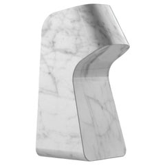 Carrara Pingu Bookend by Matteo Ragni