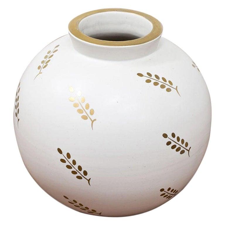 Carrara Vase by Wilhelm Kåge for Gustavsberg, Sweden For Sale