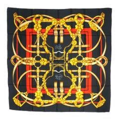 Carre90 Grand Manege  Great training  scarf  black x red