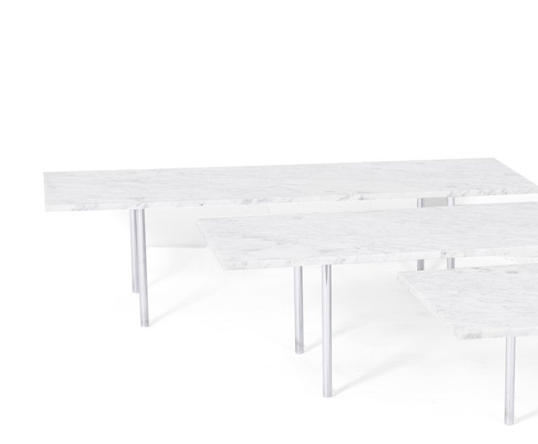 Carrera Marble Coffee Table, William Katavolos, Ross Littell and Douglas Kelley In Good Condition For Sale In Chicago, IL