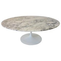 Carrera Marble Tulip Coffee Table Made in Italy