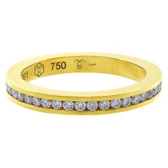 Carrera y Carrera 18 Karat Yellow Gold Diamond Eternity Band