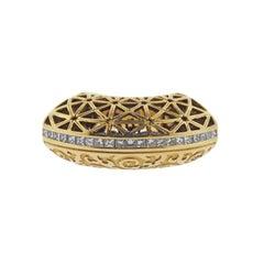 Carrera Y Carrera Aqua Diamond Gold Ring