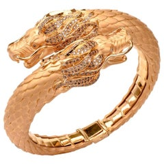 Carrera y Carrera Círculos De Fuego Dragon Bangle Bracelet