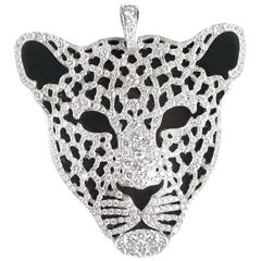 Carrera y Carrera Diamond Leopard Pendant Necklace