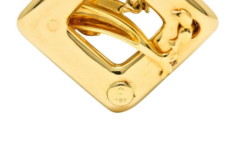 Carrera Y Carrera Vintage 18 Karat Yellow Gold Dolphin Necklace For Sale 4