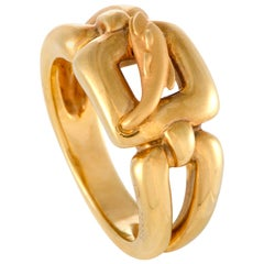 Carrera y Carrera Yellow Gold Dolphin Ring