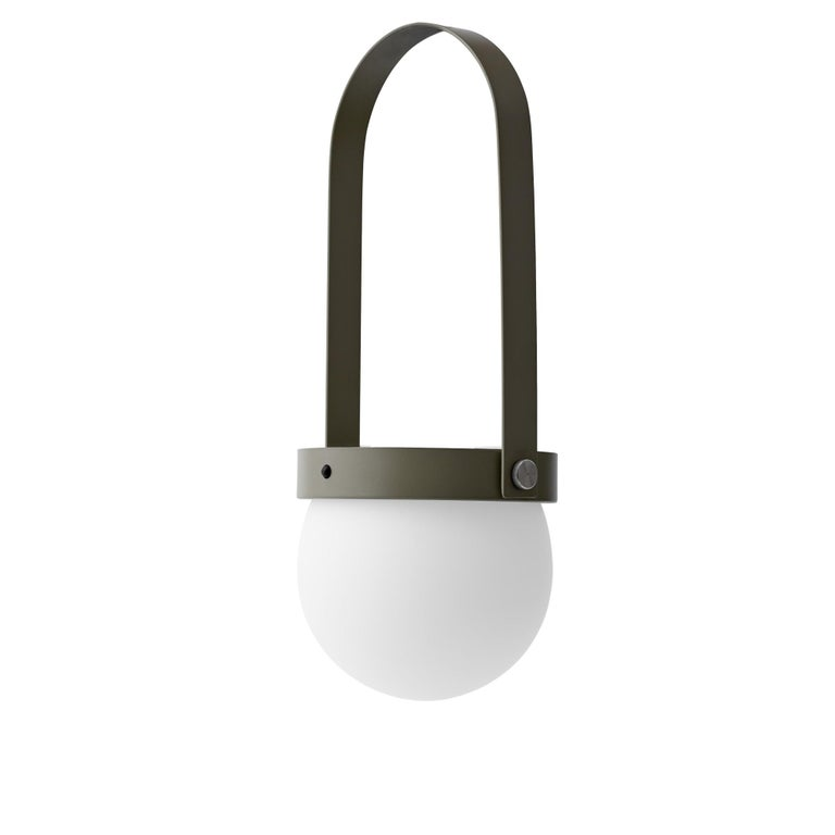 Bulgarian Carrie Led Lamp, Olive by Norm Architects For Sale