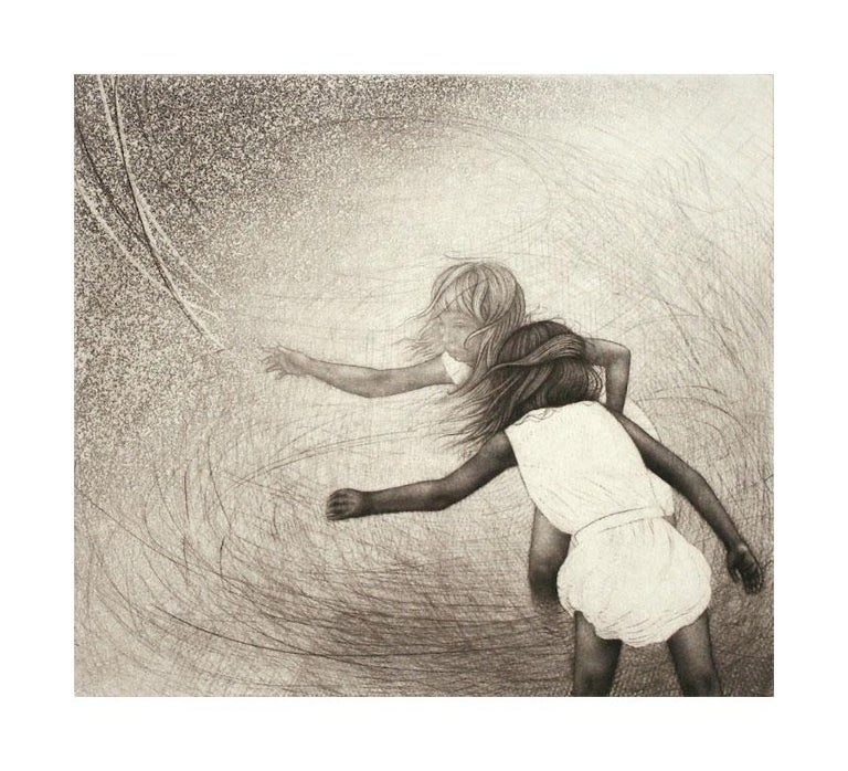 Carrie Lingshceit Figurative Print - momento no. 17384 (drift)