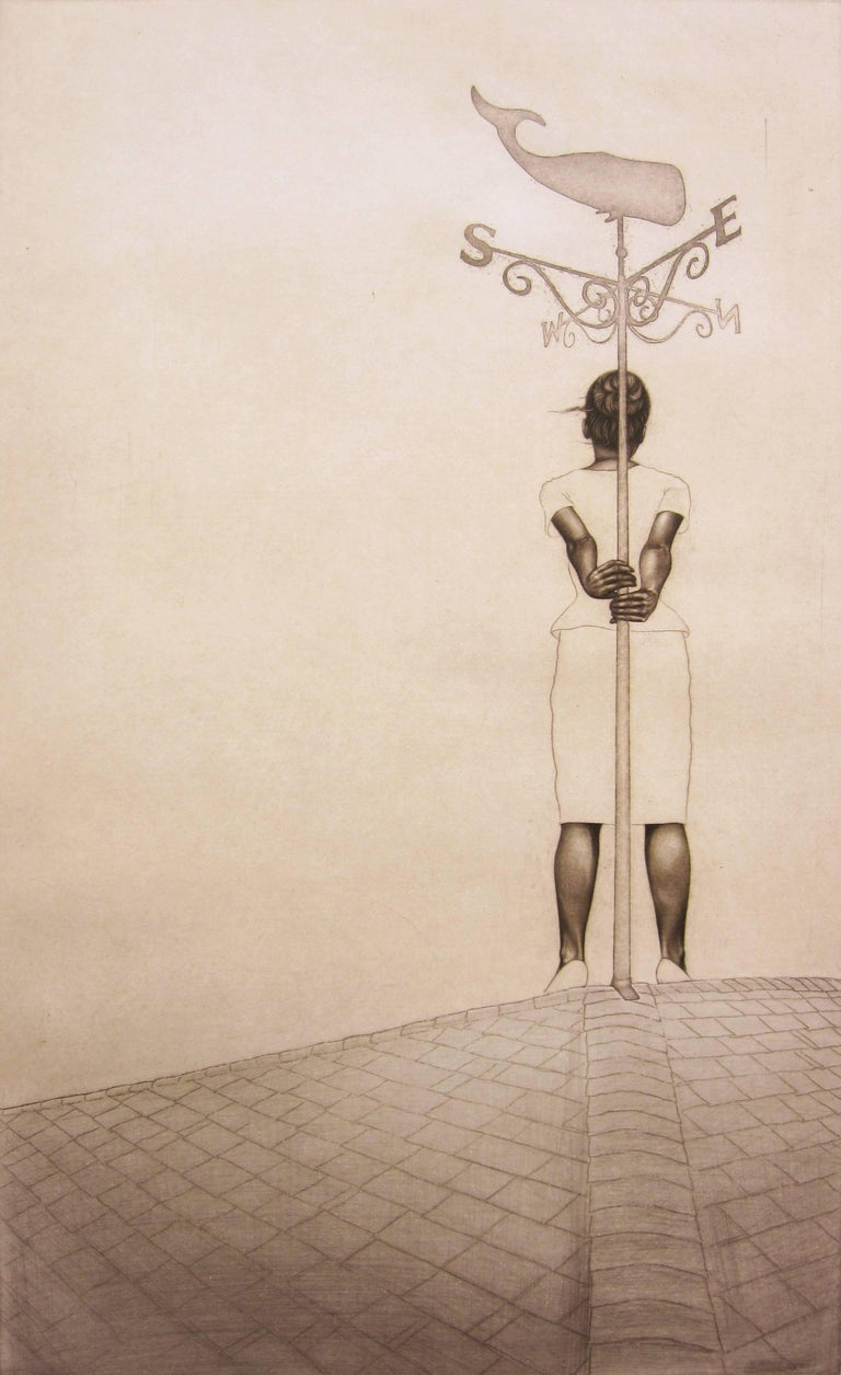 Carrie Lingshceit Figurative Print - momento no. 9690 (muse)