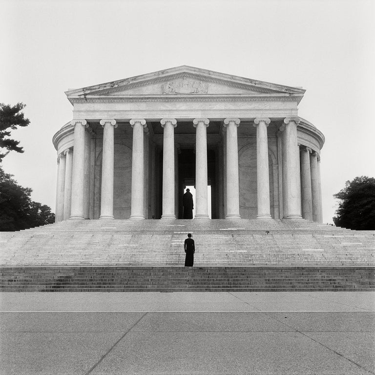 <i>Jefferson Memorial</i>, 2021, by Carrie Mae Weems, offered by Lincoln Center Editions