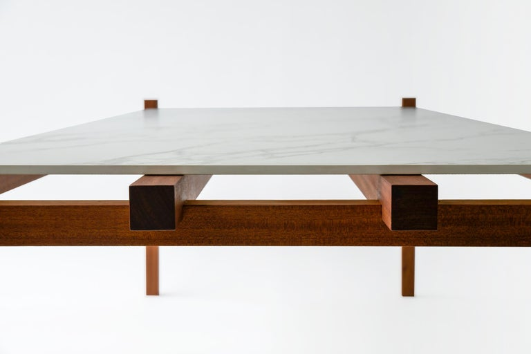 Carrier Neolith Ceramic Table, Jesse Visser In New Condition For Sale In Collonge Bellerive, Geneve, CH