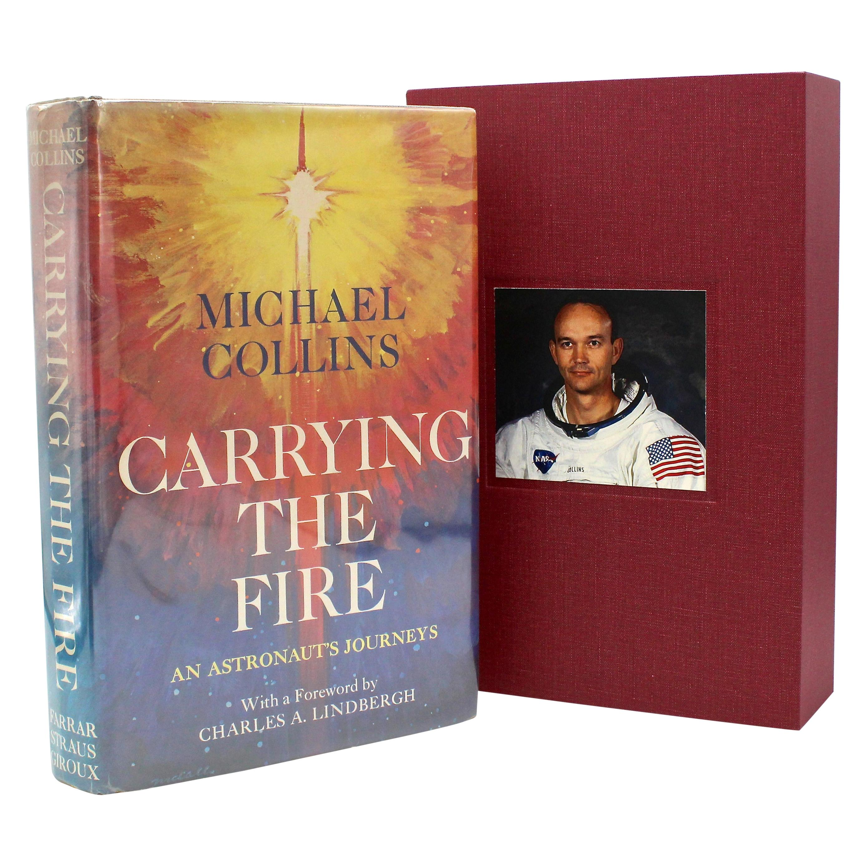 """""""Carrying the Fire,"""" Signed by Michael Collins, 1st Edition, 1974"""