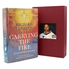 Carrying the Fire: An Astronaut's Journeys, Signed by Michael Collins, 1st Ed.