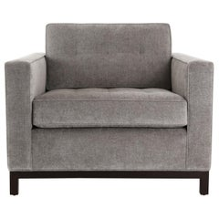 Carson Chair Solid Wood Base, Pull Tufting