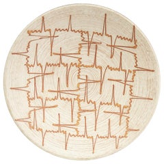 Carstens Tönnieshof West German Midcentury Abstract Trailed Design Bowl