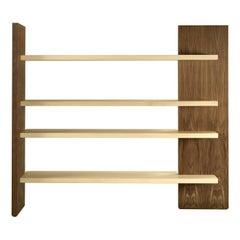Cartesia Freestanding Bookcase