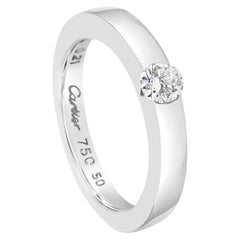 Cartier 0.21 Carat Solitaire Ring