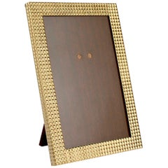 Cartier 14 Karat Gold Art Deco Photo or Picture Frame