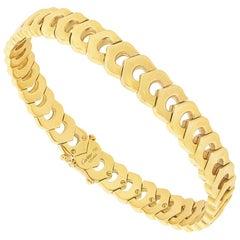 Cartier 18 Carat Gold C de Cartier Bracelet
