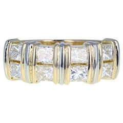 Cartier 18 Carat Gold Diamond Band Ring