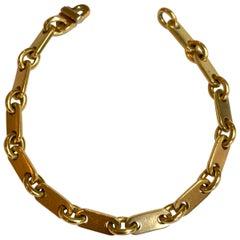 Cartier, 18 Carat Gold Link Bracelet