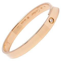 Cartier 18 Carat Yellow Gold Diamond Anniversary Bracelet