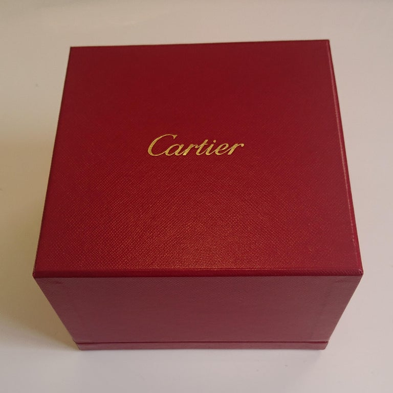 Cartier 18 Carat Yellow Gold Love Cuff Bangle Bracelet For Sale 3