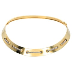 Cartier 18 Karat Gold Collar Necklace