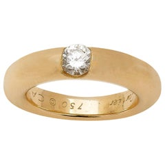 Cartier 18 Karat Gold Diamond Ring